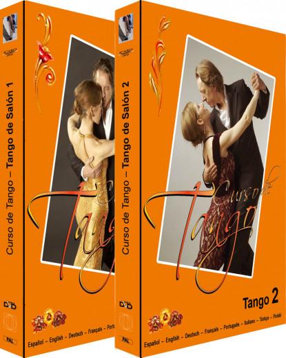 Tango de Salón Part I + II - 2 DVDs