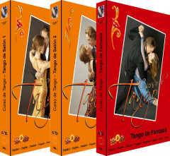 Tango de Salón I + II + Tango de Fantasía - 3 DVDs